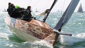 Solent Yacht Charter – Collective Spirit in Round the Island Race 2013