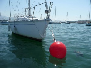 How to sail: Picking up a Mooring buoy