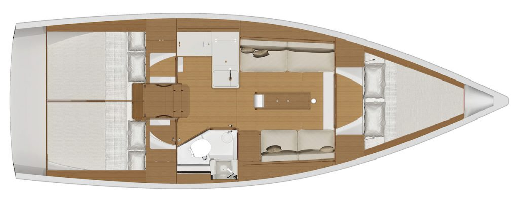 Dufour 360 for charter