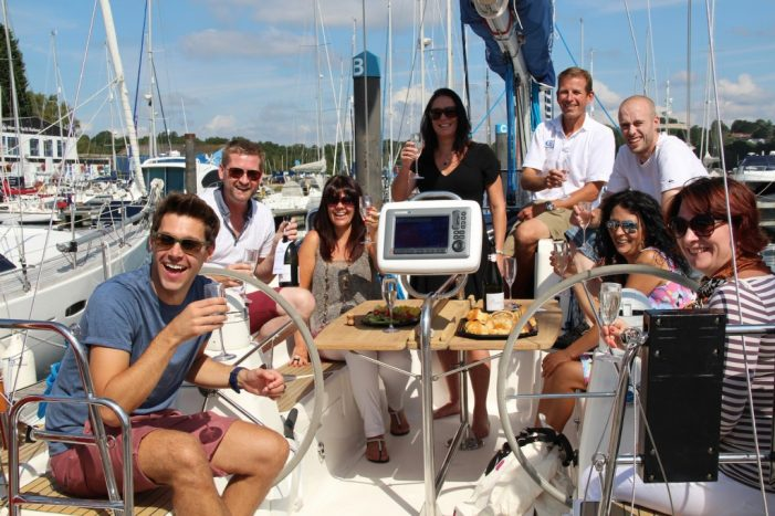 Why choose a sailing day for your hospitality event?