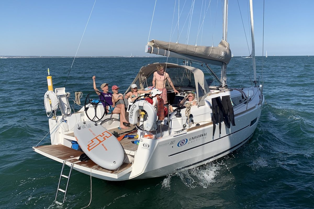 Bareboat Sailing Days