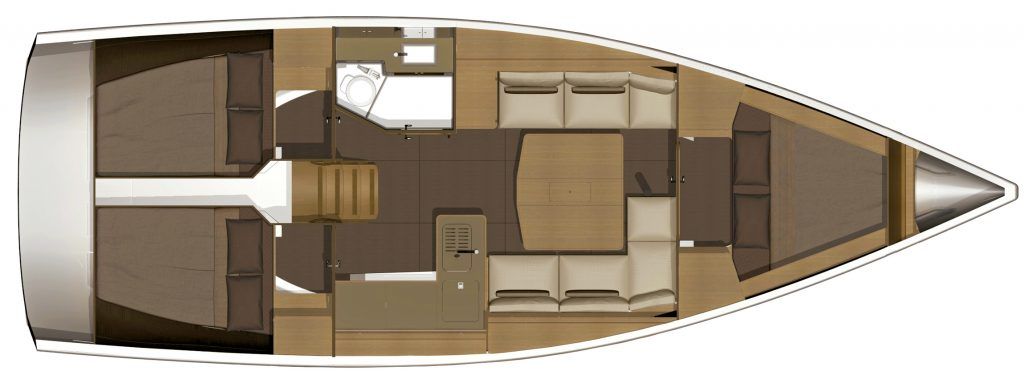 Dufour 382 for charter